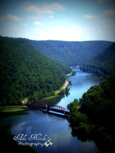 Another view of the New River Gorge National River from Hawks Nest State Park in Beautiful West Virginia!!