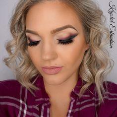 vampy cranberry eyes Makeup Tutorial - Makeup Geek