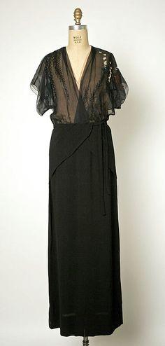 Evening Dress, Gilbert Adrian: 1945
