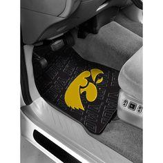 Iowa Hawkeyes NCAA Car Front Floor Mats (2 Front) (17x25)