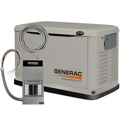Generac Guardian™ 11kW Standby Generator System (50A 12-Circuit Automatic Switch) Model 6437