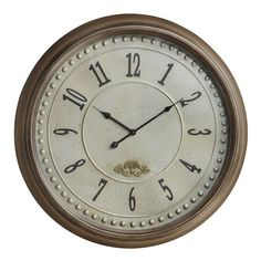I pinned this James Wall Clock from the Rustic Revival event at Joss and Main!