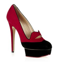 Charlotte Olympia Luella Court Shoe   Harrods