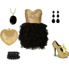 Evening Dress   Polyvore