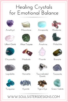 Healing Crystals for Emotional Balance