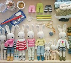 Вязаные игрушки амигуруми - идеи, приемы работы | http://www.babyroomblog.ru/