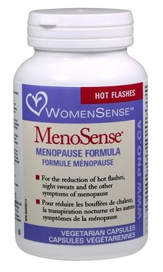 MenoSense by Preferred Nutrition - Reduces hot flashes, night sweats, poor sleep, irritability, nervousness, loss of concentration, vaginal atrophy, vaginal dryness, moodiness, leg cramps, headaches, and profuse perspiration. #Products
