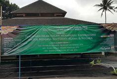 Masjid Ma'had al-Anshar Sleman - Yogyakarta tempat berlangsung Kajian Asatidzah yang akan berlangsung selama 4 hari (26-29 Jumadil Akhir 1437 H)  Sumber : Telegram Dauroh Nasional