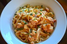 Linguine with Lobster-Tarragon Sauce