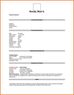format for job application pdf basic appication letter blank resume form bussines proposal first time free templates best free home design idea - Resume Free Templates