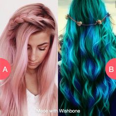 Which hair color? Tap to vote http://sms.wishbo.ne/U1ak/VMNqKfGHat
