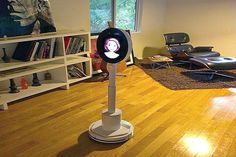 Maya is a Personal Robot made to make your everyday life easier. She may not look like a robotic human, standing at just over 4 feet with nothing more but an oval screen and avatar for a face and lithe body and base, but the Personal Robot can do just about anything a human can do.