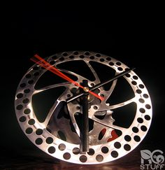 Cool things made from scrap bicycle parts on pinterest - Cool stuff made from junk ...