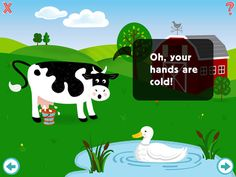 Old MacDonald for iPad ($0.99) Created by Listening and Spoken Language Specialists in conjunction with Early Childhood Teachers, Old MacDonald is a highly interactive learning experience. The app is full of wonderful educational ideas, interactive games, and engaging sounds to encourage the development of listening and language skills in young children. Families of children who have reduced hearing or language difficulties will find the app particularly useful.