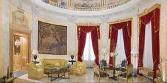 """Lujosas habitaciones, Suite """"Villa La Cupola"""" del hotel Westin Excelsior en Roma"""