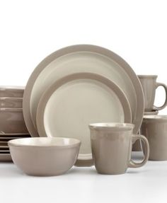 Thomson Pottery Mali Sesame 16-Pc. Set, Service for 4 | macys.com