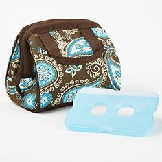 Charlotte Insulated Lunch Bag with Ice Pack  Price : $17.99 - $19.99 http://shop.fit-fresh.com/Charlotte-Insulated-Lunch-Bag-Pack/dp/B00JZXD0FA