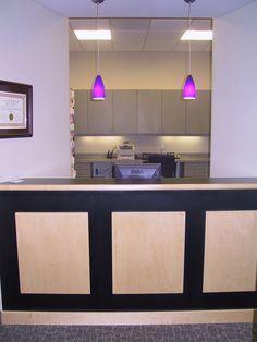 Dr Long Reception  Cabinets: LBC Design Cabinetry - Cornelius, NC www.lbcdesigncabinetry.com