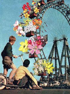 Ferris wheel of Flowers