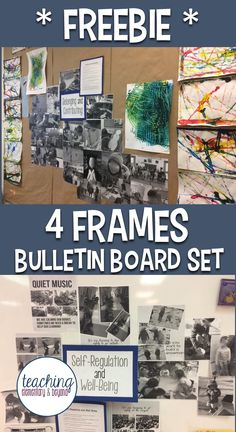 I love this awesome kindergarten bulletin board set. Great for Ontario FDK teachers looking to organize their classroom and show off their students learning. Kindergarten Classroom Organization, Kindergarten Bulletin Boards, Kindergarten Assessment, Full Day Kindergarten, Reggio Classroom, Kindergarten Curriculum, Teacher Organization, September Bulletin Boards, Preschool Bulletin