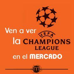 Ven a ver la Champions al Mercado #LonjadelBarranco