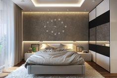 HappyModern.RU | Потолки из гипсокартона для спальни (80 фото): мир комфорта и стиля | http://happymodern.ru