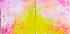 yellowpink, art journal