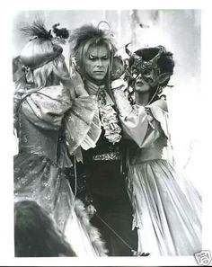 David Bowie as Jareth in Labyrinth.