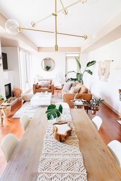 Interior Design Dining Room / Bar / Kitchen Reveal in partnership with HomeSense Canada Home Living Room, Interior Design Living Room, Living Room Designs, Living Room Decor, Living Room With Plants, Interior Colors, Interior Plants, Apartment Living, Living Area