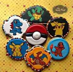 Pokemon cookies