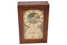 Vintage 1975 Planters Clock Model 4 Fairfield Clocks Div