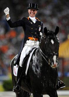 Anky van Grunsven and Salinero