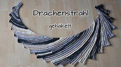 Drachenschwanz tunesische Häkelanleitung - YouTube