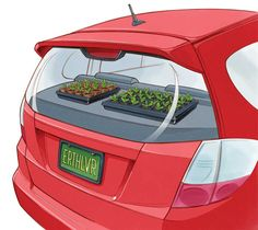 Raise Seedlings With a Greenhouse on Wheels - Organic Gardening - MOTHER EARTH NEWS