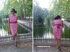 Summer Pink dress shape Trapèze #diy - https://fr.pinterest.com/bettinael/happy-diy-couture/