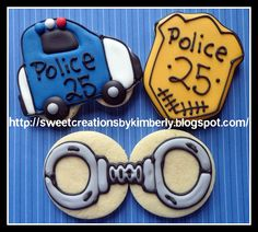 Love the handcuff cookies