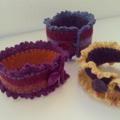 forestflowerdesigns crochet jewelry
