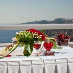 Hindu Wedding Ceremony Santorini Wedding Venue Dana Villas www