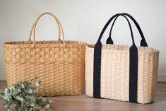 Diy And Crafts, Paper Crafts, Lucky Bamboo, Rattan, Reusable Tote Bags, Basket, Handbags, Purses, Beach Bags