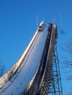 "Located in Iron Mountain, Michigan each year is the annual ski jump.  Thousands of people come together from around the world to watch skiers from roughly 12 different countries jump.  If you like to tailgate with friends, wear fur hats, and see extreme athletes, this is an activity for you.  Just don't yell ""shot ski"" if you are afraid of groups. ;)"