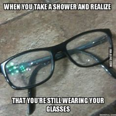 People with glasses will understand...