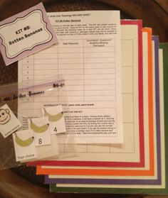 Math KITs: games students to practice addition/multiplication facts in school or at home