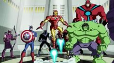 The Avengers: Earths Mightiest Heroes!