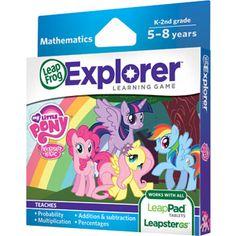 LeapFrog Explorer Learning Game: Hasbro My Little Pony Friendship is Magic ((Elija♥))