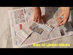 పేపర్ కటింగ్ కొత్తగా నేర్చుకునే వారికి కోసం ఆది జాకెట్టు తో కటింగ్ - YouTube