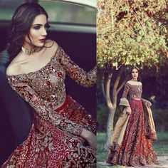 Image may contain: 3 people Asian Bridal Dresses, Pakistani Formal Dresses, Indian Bridal Outfits, Bridal Lehenga Choli, Pakistani Wedding Dresses, Indian Wedding Gowns, Desi Wedding Dresses, Indian Gowns, Wedding Lenghas