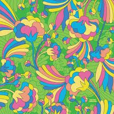 Resultado de imagem para psychedelic flowers