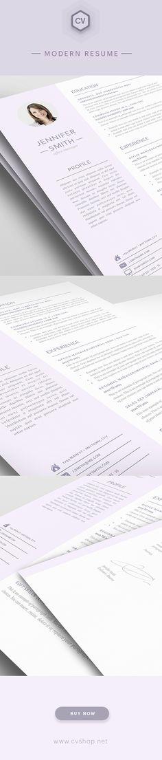 Elegant Resume Template - Premium line of Resume \ Cover Letter - microsoft word templates resume