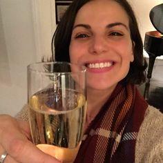 Awesome Lana celebrating #Once #S7 #VancouvetBC #Canada Friday 5-12-17