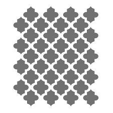 Moroccan Stencils Template for Crafting Canvas DIY Decor Wall Art Furniture… Stencil Templates, Stencil Patterns, Stencil Designs, Printable Stencils, Nail Stencils, Stencil Art, Image Deco, Moroccan Stencil, Diy Décoration